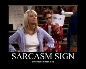 sarcasm smiley